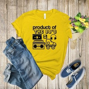 Graphic Tee - Product of the 80s